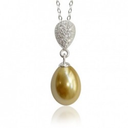 Collier, imitation perle de...