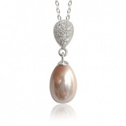 Collier, perle d'imitation...