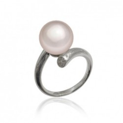 ring with soft pink 10mm...